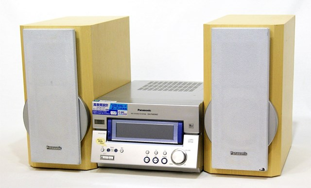 【中古】迅速発送+送料無料!値引交渉歓迎!1点のみ早い者勝ち Panasonic パナソニック SC-PM65MD-S シルバー パーソナルミニコンポ(CD/MDコンポ)(本体SA-PM65MDとスピーカーSB-PM65のセット) MDLP非対応【@YA管理1-53R-GS0HA11085】