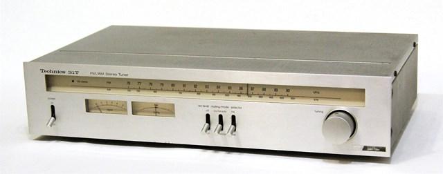 【中古】迅速発送+送料無料+動作保証!! Technics テクニクス ナショナル 松下電器産業 ST-9031T (シルバー) FM/AMチューナー【@YA管理1-53-AD8316A093D】