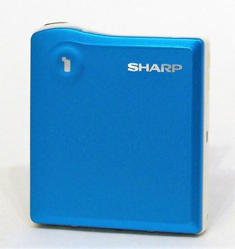【中古】迅速発送+送料無料+動作保証!値引交渉歓迎! SHARP シャープ MD-DS33-A ブルー 1ビットポータブルMDプレーヤー(MD再生専用機) MDLP対応 汎用充電池(未使用品)1本おまけ おすすめ【@YA管理1-53-70887456】