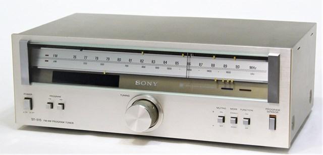 【中古】迅速発送+送料無料!! 《ジャンク》 SONY ソニー ST-515 FM/AMプログラムチューナー【@YA管理1-53-217266】