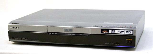 【中古】迅速発送+送料無料+動作保証!! SONY ソニー RDZ-D87 HDD/DVDレコーダー(ハイビジョンレコーダー)スゴ録 デジタルチューナー内蔵 HDD:400GB リモコン代替品【@YA管理1-53-8507827】