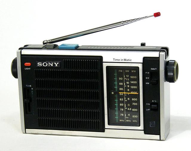 【中古】迅速発送+送料無料+動作保証!値引交渉歓迎! SONY ソニー ICF-5350 3バンドラジオ FM/MW/SW【@YA管理1-53-72344】