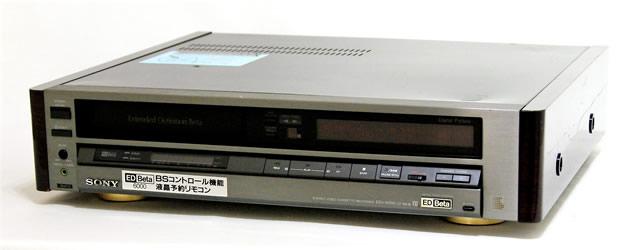 【中古】迅速発送+送料無料+動作保証!! <稀少品> SONY ソニー EDV-6000 ED Beta 6000 EDベータビデオカセットレコーダー リモコン欠品【@YA管理1-53-804775】