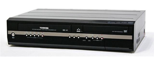 【中古】迅速発送+送料無料+動作保証!! TOSHIBA 東芝 D-VR7 VHS/DVDレコーダー(VTR一体型DVDレコーダー)【@YA管理1-53-4089490837】