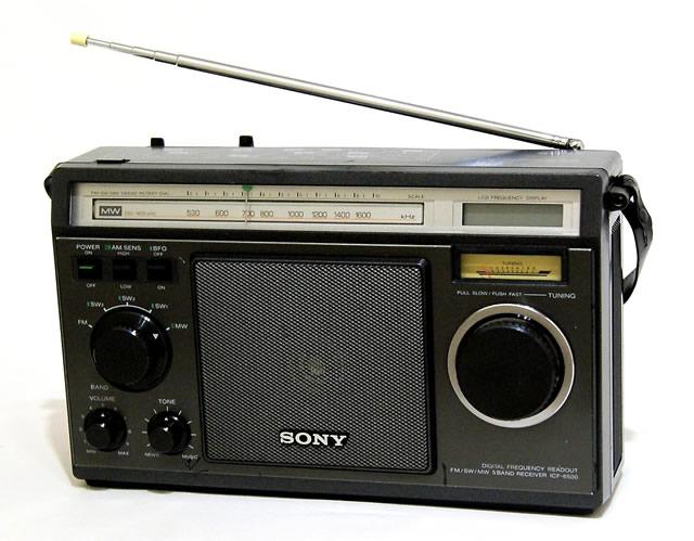 【中古】迅速発送+送料無料+動作保証!! SONY ソニー ICF-6500 5バンドマルチバンドレシーバー FM/MW/SW1/SW2/SW3 (FM/中波/短波/BCLラジオ)【@YA管理1-53-11402】