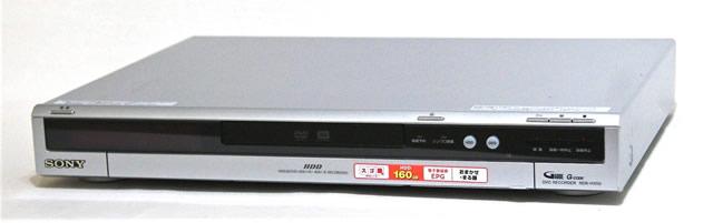 【中古】迅速発送+送料無料+動作保証!! SONY ソニー RDR-HX50 DVDレコーダー(HDD/DVDレコーダー) HDD:160GB 地デジチューナー非搭載【@YA管理1-53-2030207】