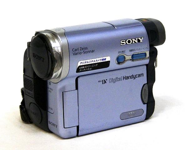 【中古】迅速発送+送料無料+動作保証!! SONY ソニー DCR-TRV22K(S) シルバー デジタルビデオカメラレコーダー ハンディカム ミニDV SUPER NIGHTSHOT機能【@YA管理1-53-27537】