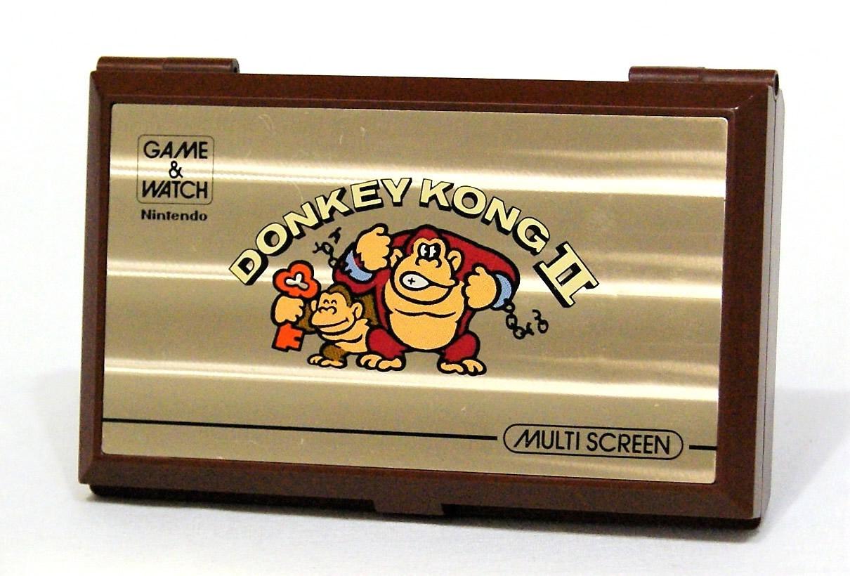 【中古】迅速発送+送料無料+動作保証!! Nintendo 任天堂 JR-55 ドンキーコングII(ドンキーコング2/DONKEY KONGII)GAME&WATCH ゲーム&ウォッチ(ゲームウォッチ)マルチスクリーン 本体のみ【@YA管理1-8-35275883】