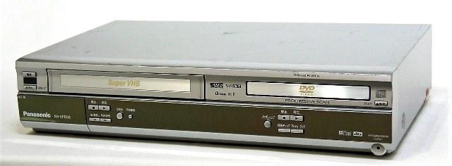 【中古】迅速発送+送料無料+動作保証!! Panasonic パナソニック NV-VP50S DVDプレーヤー一体型S-VHSビデオ(VHS/DVDプレイヤー)【@YA管理1-53-MN2642258】