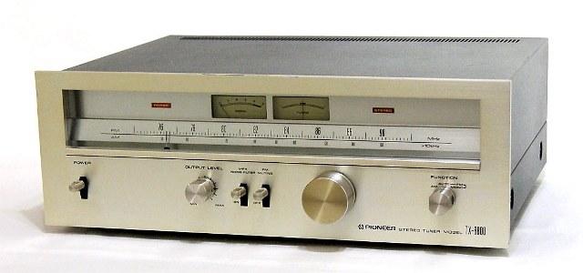 【中古】迅速発送+送料無料+動作保証!値引交渉歓迎! PIONEER パイオニア TX-8800 AM/FMステレオチューナー【@YA管理1-53-VD1045030】