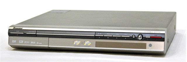 【中古】迅速発送+送料無料+動作保証!! Pioneer パイオニア DVR-515H-S シルバー HDD/DVDレコーダー HDD:120GB 地デジチューナー非搭載【@YA管理1-53-CLPG052203JP】