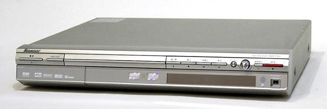 【中古】迅速発送+送料無料+動作保証!! Pioneer パイオニア DVR-710H-S シルバー DVDレコーダー(HDD/DVDレコーダー) HDD:160GB リモコン代替品【@YA管理1-53-DCCP008959JP】