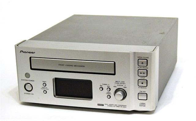 【中古】迅速発送+送料無料+動作保証!! PIONEER パイオニア PD-N902-S ステレオCDチューナー (CDプレイヤー/FM/AMラジオチューナー) 「FILL」シリーズ APX-N902 バラ売り【@YA管理1-53-UIUU002745JP】