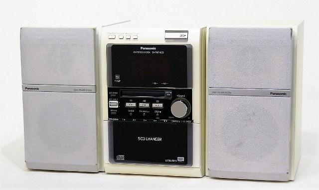 【中古】迅速発送+送料無料!値引交渉歓迎! 《訳あり(一部保証対象外)》 Panasonic パナソニック SC-PM710SD-W ホワイト SDステレオシステム(CD/MD/SD/カセットコンポ)(本体SA-PM710SDとスピーカーSB-PM710のセット) カセット使用不可【@YA管理1-53R-GP5CA004730】