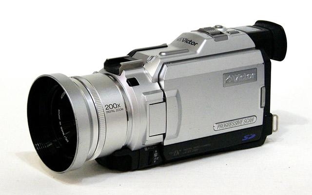 【中古】迅速発送+送料無料+動作保証!値引交渉歓迎! Victor ビクター JVC GR-DV2000 デジタルビデオカメラ ミニDV方式 別売アクセサリーキットおまけ【@YA管理1-53-07610214】