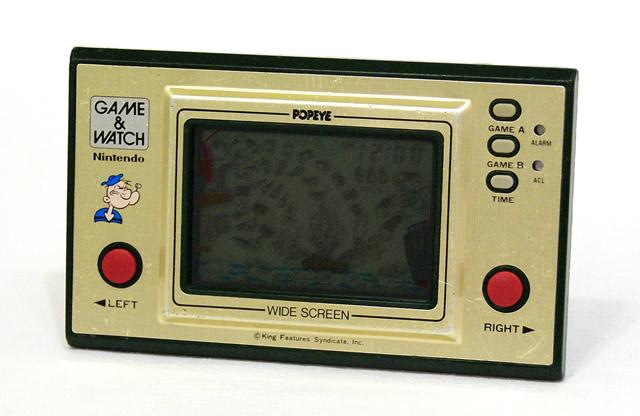 【中古】迅速発送+送料無料+動作保証!! Nintendo 任天堂 PP-23 ポパイ(POPEYE) GAME&WATCH ゲーム&ウォッチ(ゲームウォッチ)ワイドスクリーン 本体のみ【@YA管理1-8-NOPP】