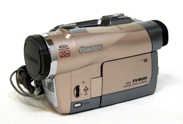 【中古】迅速発送+送料無料!! 《訳あり(一部保証対象外)》 Canon キャノン DM-FV M200KIT-R スイートロゼ デジタルビデオカメラ ミニDV【@YA管理1-53-388032040554】