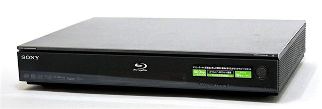 【中古】迅速発送+送料無料+動作保証!! SONY ソニー BDZ-L95 ブルーレイレコーダー(HDD/BD/DVDレコーダー) HDD:500GB デジタルWチューナー搭載 リモコン代替品【@YA管理1-53-8046371】