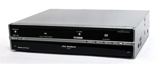 メーカー:DX ANTENNA 発売日:2007年12月1日 【中古】迅速発送+送料無料+動作保証!値引交渉歓迎! DXアンテナ 船井電機 DXBROADTEC DVHR-D250 HDD搭載VHSビデオ一体型DVDレコーダ(HDD/VHS/DVDレコーダー) 地デジチューナー搭載 250GB【@YA管理1-53-D24836774A】