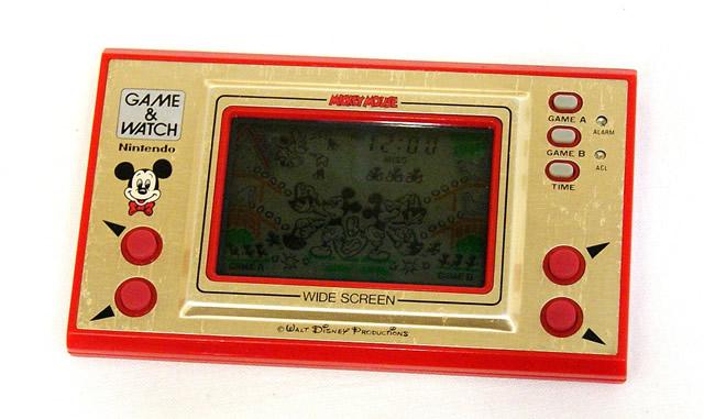 【中古】迅速発送+送料無料+動作保証!! Nintendo 任天堂 MC-25 ミッキーマウス(MICKEY MOUSE) GAME&WATCH ゲーム&ウォッチ(ゲームウォッチ)ワイドスクリーン 本体のみ【@YA管理1-53-Mickey】