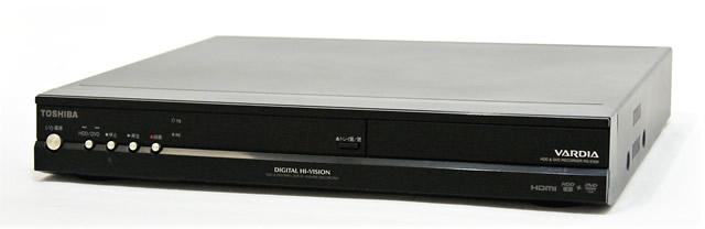 メーカー:TOSHIBA 発売日:2008年7月4日 【中古】迅速発送+送料無料+動作保証!値引交渉歓迎!TOSHIBA 東芝 RD-E302 デジタルハイビジョンチューナー内蔵ハードディスクDVDレコーダー VARDIA ヴァルディア(HDD/DVDレコーダー)HDD:300GB 地デジチューナー搭載【@YA管理1-53-PL18900607】