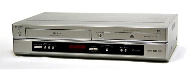 【中古】迅速発送+送料無料+動作保証!値引交渉歓迎! SHARP シャープ DV-NC700 ビデオ一体型DVDプレーヤー(VHS/DVDプレーヤー)【@YA管理1-53-9268447】