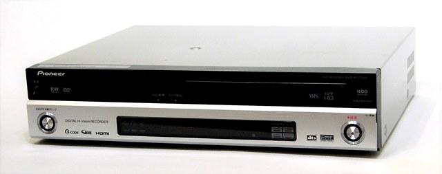 HDD/ 【@YA管理1-53-CLPG076242JP】 HDD:80GB DVDレコーダー 迅速発送+送料無料+ Pioneer 【中古】 パイオニア DVR-510H-S 動作保証! ! シルバー