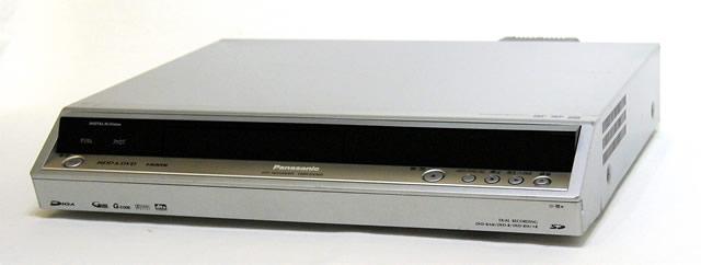 メーカー:Panasonic 発売日:2005年7月15日 【中古】迅速発送+送料無料+動作保証!! Panasonic パナソニック DMR-EX300-S シルバー HDD内蔵DVDビデオレコーダー 400GB【@YA管理1-53-KW5HB001259】