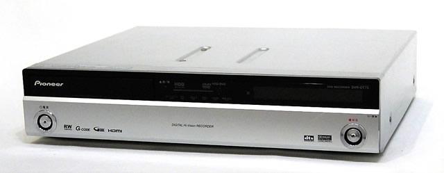 【中古】迅速発送+送料無料+動作保証!値引交渉歓迎! Pioneer パイオニア DVR-DT75 デジタルチューナー搭載 HDD/DVDレコーダー HDD:250GB【@YA管理1-53-FJDL007945JP】