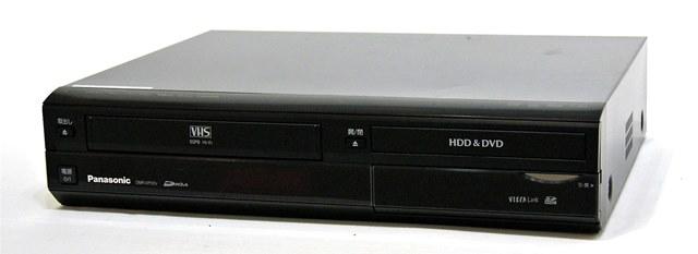 メーカー:Panasonic 発売日:2008年2月5日 【中古】迅速発送+送料無料+動作保証!! Panasonic パナソニック DMR-XP22V-K ブラック HDD搭載VHS一体型ハイビジョンDVDレコーダー(VHS/HDD/DVDレコーダー) DIGA 地デジチューナー搭載 HDD:250GB【@YA管理1-53-VN8AA009809】