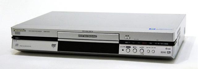 【中古】迅速発送+送料無料!値引交渉歓迎! 《訳あり(一部保証対象外)》 Panasonic パナソニック DMR-E50-S シルバー DVDレコーダー 【@YA管理1-53R-KW3EA006199】