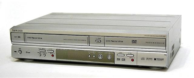 メーカー:MITSUBISHI 発売日:2004年6月21日 【中古】迅速発送+送料無料+動作保証!! MITSUBISHI 三菱 ミツビシ DVR-S300 DVD/VHSデッキ (VHS一体型のDVDレコーダ)【@YA管理1-53-0249876】