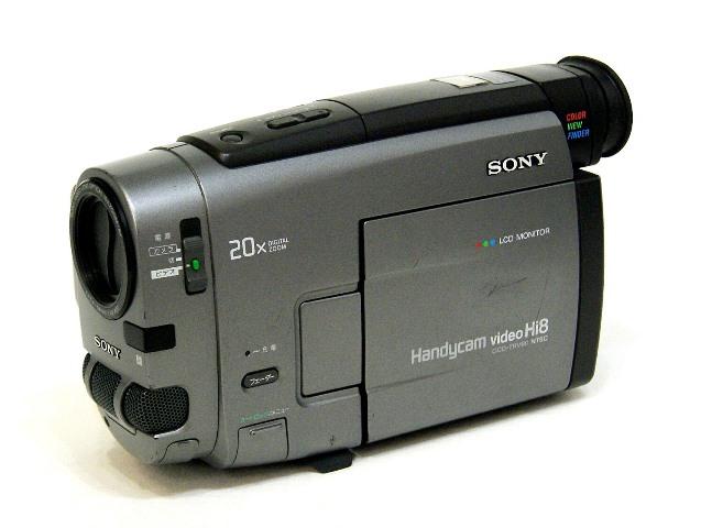 【中古】迅速発送+送料無料!! 《ジャンク品》 SONY ソニー CCD-TRV90 ハイエイトビデオカメラ (VideoHi8/8mmビデオカメラ) 本体のみ ビンテージ ヴィンテージ レトロ アンティーク【@YA管理1-53-36529】