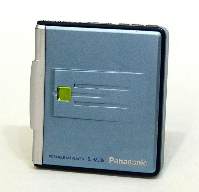 【中古】迅速発送+送料無料+動作保証!値引交渉歓迎! Panasonic パナソニック SJ-MJ35-A ブルー ポータブルMDプレーヤー (MD再生専用機)【@YA管理1-53-FD9JA06164】