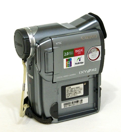 【中古】迅速発送+送料無料+動作保証!値引交渉歓迎! Canon キャノン DM-IXY DV M2 KIT デジタルビデオカメラ ミニDV リモコン欠品【@YA管理1-53-221840210199】