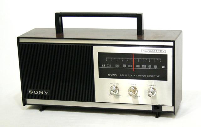 【中古】迅速発送+送料無料+動作保証!値引交渉歓迎! SONY ソニー TR-629A MW(AM)ホームラジオ ビンテージ ヴィンテージ レトロ アンティーク【@YA管理1-53-Nellie】