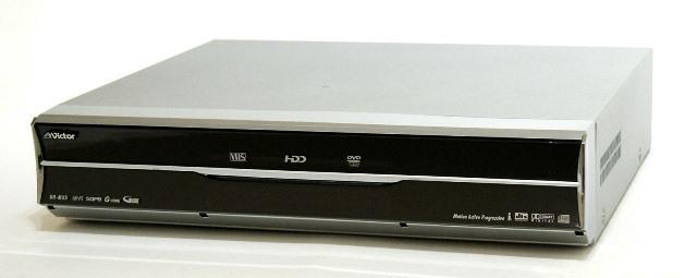 メーカー:Victor・JVC 発売日:2004年11月 【中古】迅速発送+送料無料+動作保証!! Victor ビクター JVC DR-MX5 VHS/HDD/DVD一体型レコーダー 快録LUPIN  HDD:250GB【@YA管理1-53-169Y0143】