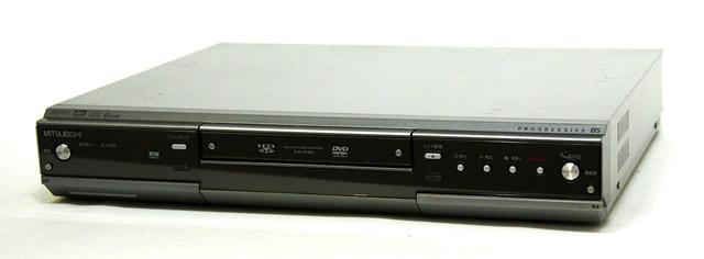 【中古】迅速発送+送料無料+動作保証!! MITSUBISHI 三菱 ミツビシ DVR-HE650 HDD&DVDビデオレコーダー(HDD/DVDレコーダー) HDD:160GB【@YA管理1-53-043423M】