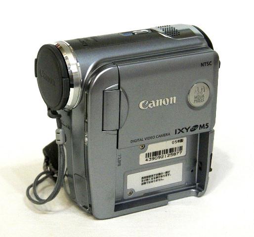 【中古】迅速発送+送料無料+動作保証!! Canon キャノン DM-IXYDVM5(S) ソードシルバー デジタルビデオカメラ ミニDV【@YA管理1-53-439092125877】