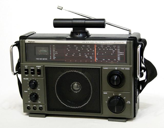 【中古】迅速発送+送料無料+動作保証!値引交渉歓迎! Rajisan 明電工業 MK-59 BCLラジオ 6バンドレシーバー(AM・SW1・SW2・FM/TV1・TV2・AIR/緊急/HAM/PB)ビンテージ ヴィンテージ レトロ アンティーク【@YA管理1-53-059034】