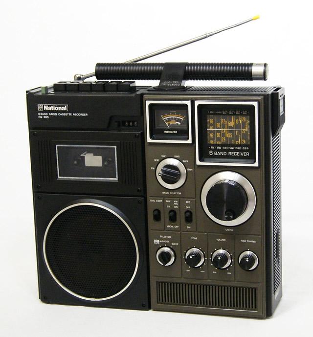 【中古】迅速発送+送料無料+動作保証!! National ナショナル RQ-585 MAC for BCL 6バンドラジオカセットレコーダー ビンテージ ヴィンテージ レトロ アンティーク【@YA管理1-53-AD603588】