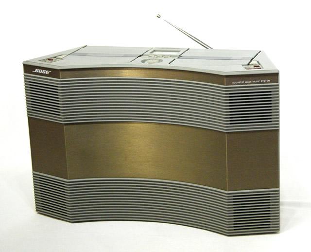 【中古】迅速発送+送料無料+動作保証!値引交渉歓迎!《稀少品》BOSE ボーズ AW-1D Acoustic Wave Stereo Music System アコースティック・ウェーブ・ステレオ・ミュージック・システム CD/FM・AM/カセット搭載【@YA管理1-53-6040089】
