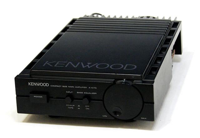 【中古】迅速発送+送料無料+動作保証!! KENWOOD ケンウッド A-M70 パワーアンプ ビンテージ ヴィンテージ レトロ アンティーク【@YA管理1-53-80801319】