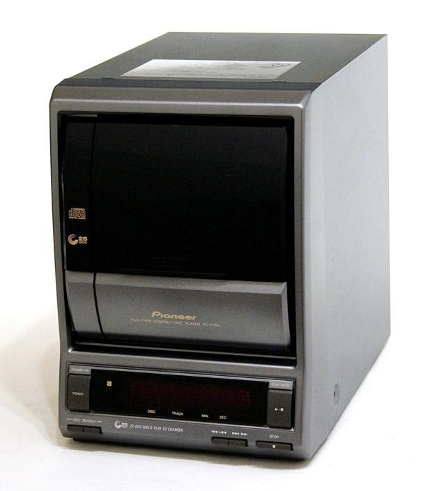 【中古】迅速発送+送料無料+動作保証!! PIONEER パイオニア PD-F25A ディスクカプセル・25枚ファイルタイプCDプレーヤー (CDチェンジャー) 専用リモコン付【@YA管理1-53-JBNN985281JP】