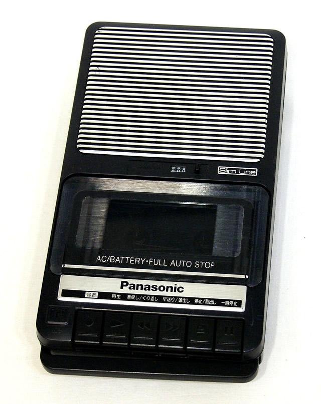 【中古】迅速発送+送料無料+動作保証!! Panasonic パナソニック RQ-2112 カセットレコーダー モノラル【@YA管理1-53-UA1KB001087】