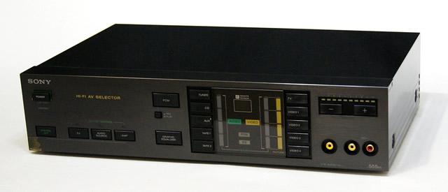 【中古】迅速発送+送料無料+動作保証!! SONY ソニー AVH-555ES Hi-Fi AVセレクター 専用リモコン付 ビンテージ ヴィンテージ レトロ アンティーク【@TA管理1-53-204477】