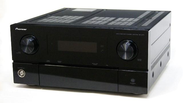 【中古】迅速発送+送料無料+動作保証!! PIONEER パイオニア SC-LX71 (ブラック) AVマルチチャンネルアンプ 専用リモコン付【@YA管理1-53-HJTC000188JP】
