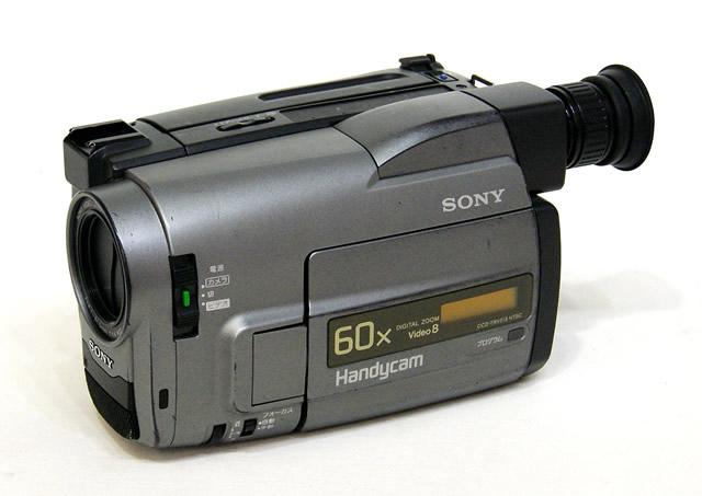 【中古】迅速発送+送料無料+動作保証!!SONY ソニー CCD-TRV513K ビデオカメラレコーダー(Video8/8mm ハンディカム)スタンダード8ミリ方式 リモコン欠品 ビンテージ ヴィンテージ レトロ アンティーク【@YA管理1-53-460032】