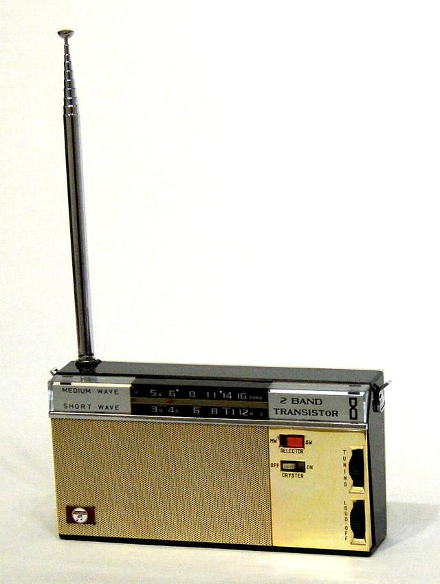 【中古】迅速発送+送料無料+動作保証!! Columbia 日本コロンビア MODEL 1858 2バンドラジオ (MW/SW) ビンテージ ヴィンテージ レトロ アンティーク【@YA管理1-53-Radio17】