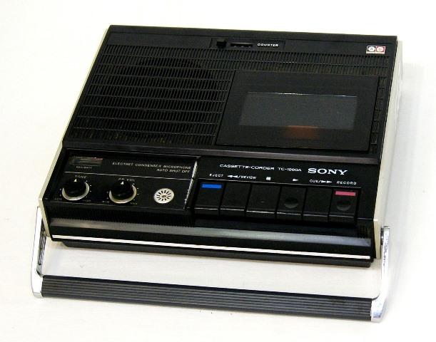 【中古】迅速発送+送料無料!! 《ジャンク品》 SONY ソニー TC-1260A ブラック カセットコーダー ビンテージ ヴィンテージ レトロ アンティーク【@TA管理1-53R-92478】